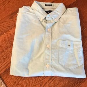 NWOT American Eagle button down. Teal. Medium